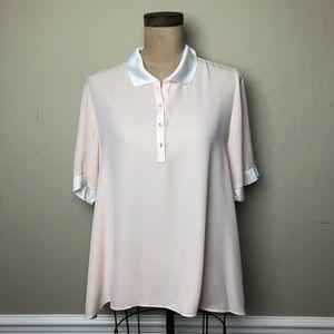 Nanette Lepore swing  polo style shirt